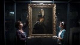 Zbulohet autoportreti i Rembrandtit