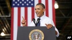 """Barack Obama pidió al Congreso """"cumplir sus resposabilidades"""" y aprobar el presupuesto de la nación sin demora."""