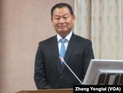 台湾国家安全局长李翔宙 (美国之音张永泰拍摄)