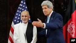 阿富汗兩名總統候選人之一加尼,星期五與克里會晤.
