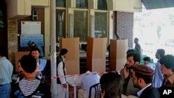 আফগানিস্তানের একটি নির্বাচনী বুথ