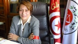 Raoudha Karafi (VOA/H. Ridgwell)