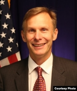David Rank, acting U.S. ambassador to China