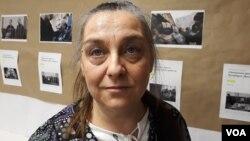 Мать одного из петербургских фигурантов дела «Сети» Юлия Бояршинова - Татьяна Копылова