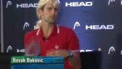 Novak ponovo imitira Mariju