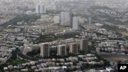 FILE - A general view of Tehran, Iran.