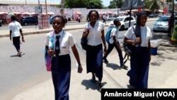 Estudantes, Pemba, Moçambique
