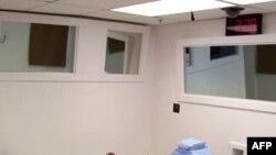 Место для приведения смертного приговора в тюрьме США