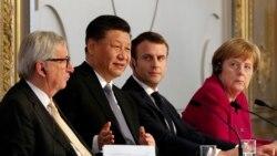 習近平同歐洲領導人舉行視頻會議 討論中歐關係