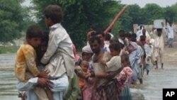 سیلاب زدگا ن کی گھروں کو واپسی شروع