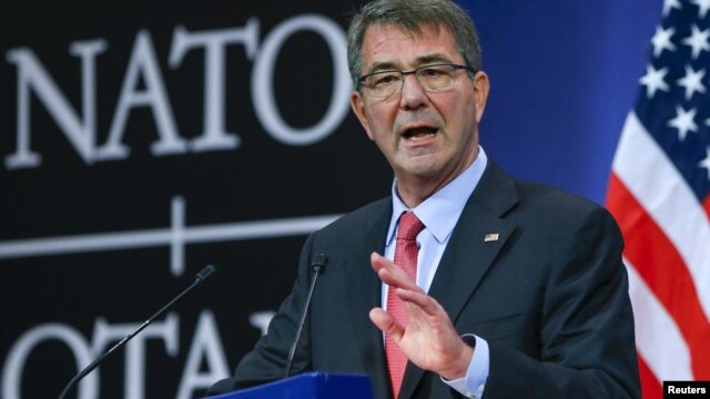 US Defense Chief Appeals for More aid in Fighting Islamic State