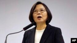 Presiden terpilih Tsai Ing-wen berniat untuk meningkatkan anggaran untuk spionase Taiwan (foto: dok).