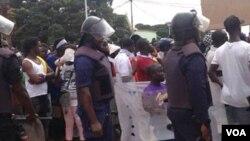 Bissau recebeu protesto pacífico