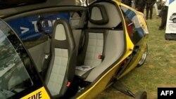 Švajcarsko vozilo Eks trejser, nalik na motorcikl - ali na električni pogon