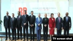 """Učesnici samita """"Brdo - Brioni Procesa"""" u Budvi"""