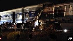 آرشیف: تصادم دو قطار راه آهن