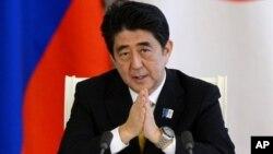 PM Jepang Shinzo Abe hari Sabtu (1/6) mengumumkan dana investasi senilai $ 32 miliar (foto: dok).