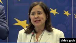 Genoveva Ruiz-Calavera, direktorica za Zapadni Balkan pri Generalnoj direkciji Evropske komisije za susjedstvo i pregovore o proširenju, Sarajevo, 2. juli 2018.