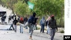Batı Şeria'da Filistinlilerle İsrail Askerleri Arasında Çatışma