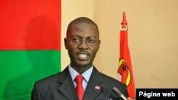 Aly Mango, secretário-geral da Juventude Revolucionária de Angola (JURA)