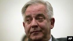 ხორვატიის ყოფილი პრემიერ მინისტრი, ივო სანადერი. 20 ნოემბერი, 2012 წ.