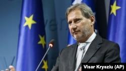 ARHIVA - Evropski komesar za proširenje i susedsku politiku Johanes Han