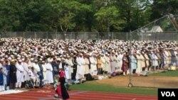 Eid Jamat in U.S.A