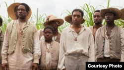 Scene from Academy Award winning movie '12 Years a Slave.'