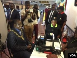 The Biometric Voter Registration exercise started in Harare on September 15