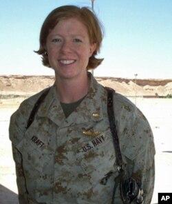 美国海军临床心理医生海蒂·克拉夫特中尉