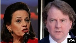 President-elect Donald Trump has chosen Kathleen McFarland as deputy national security adviser and Donald McGahn as assistant to the president and White House counsel.