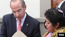 """""""El ciudadano ha sido y debe ser siempre el centro de nuestras preocupaciones y acciones"""", señaló Calderón."""