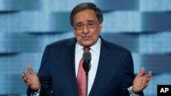وزیر دفاع پیشین آمریکا در کنوانسیون دموکراتها