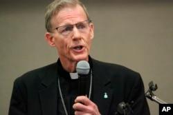 El arzobispo de Santa Fe, John Wester, dijo que está preocupado por las víctimas de abuso sexual.