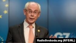 Presiden Dewan Eropa Herman van Rompuy mengatakan Uni Eropa akan segera memberlakukan sanksi baru terhadap Rusia (foto: dok).
