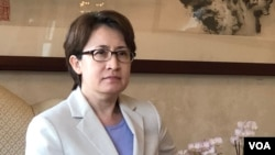 台湾驻美代表萧美琴, 2020年9月1日(美国之音锺辰芳拍摄)