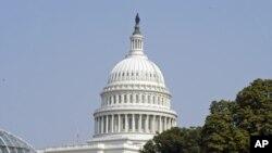 位于美国首都华盛顿的美国国会大厦