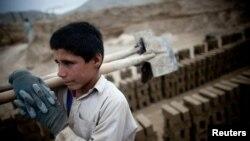 阿富汗童工