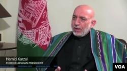 Former Afghan President, Hamid Karzai