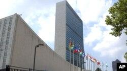 Markas besar PBB di kota New York, AS (foto: dok). 49 diplomat Rusia yang bekerja sebagai perwakilan misi Rusia di PBB didakwa melakukan penipuan di AS.