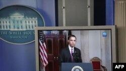 Obama Ortadoğu Konuşmasını Yapıyor