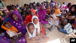 FILE - Sudan targets eight million children in vaccination campaign against measles.