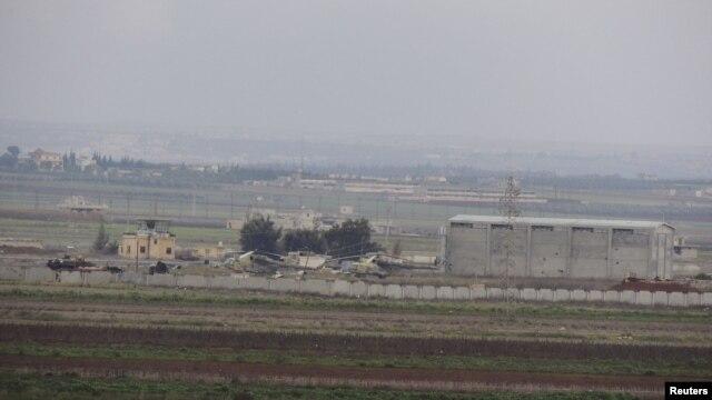Căn cứ Không quân Taftanaz gần tỉnh Idlib ở miến bắc Syria