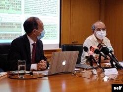 鍾劍華出任副行政總裁的香港民意研究所邀約學者遇到困難。 (鍾劍華提供)