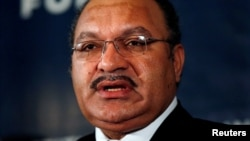 Incumbent Peter O'Neill has been re-elected as prime minister of Papua New Guinea, following the weeks-long election process because of poor organization and accusations by opposition candidates of vote rigging.