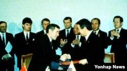 한국-헝가리 수교와 북한의 반발