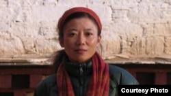 藏族女作家茨仁唯色(資料圖片)