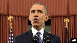 Tổng thống Obama phát biểu từ Phòng Bầu dục Tòa Bạch Ốc, ngày 6 tháng 12, 2016