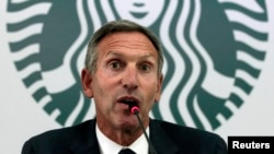 Starbucks Executive Chairman Howard Schultz is leaving the coffee company June 26.