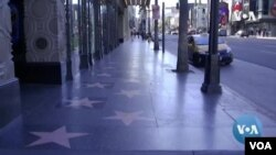 Hollywood Boulevard sepi pengunjung akibat wabah virus corona